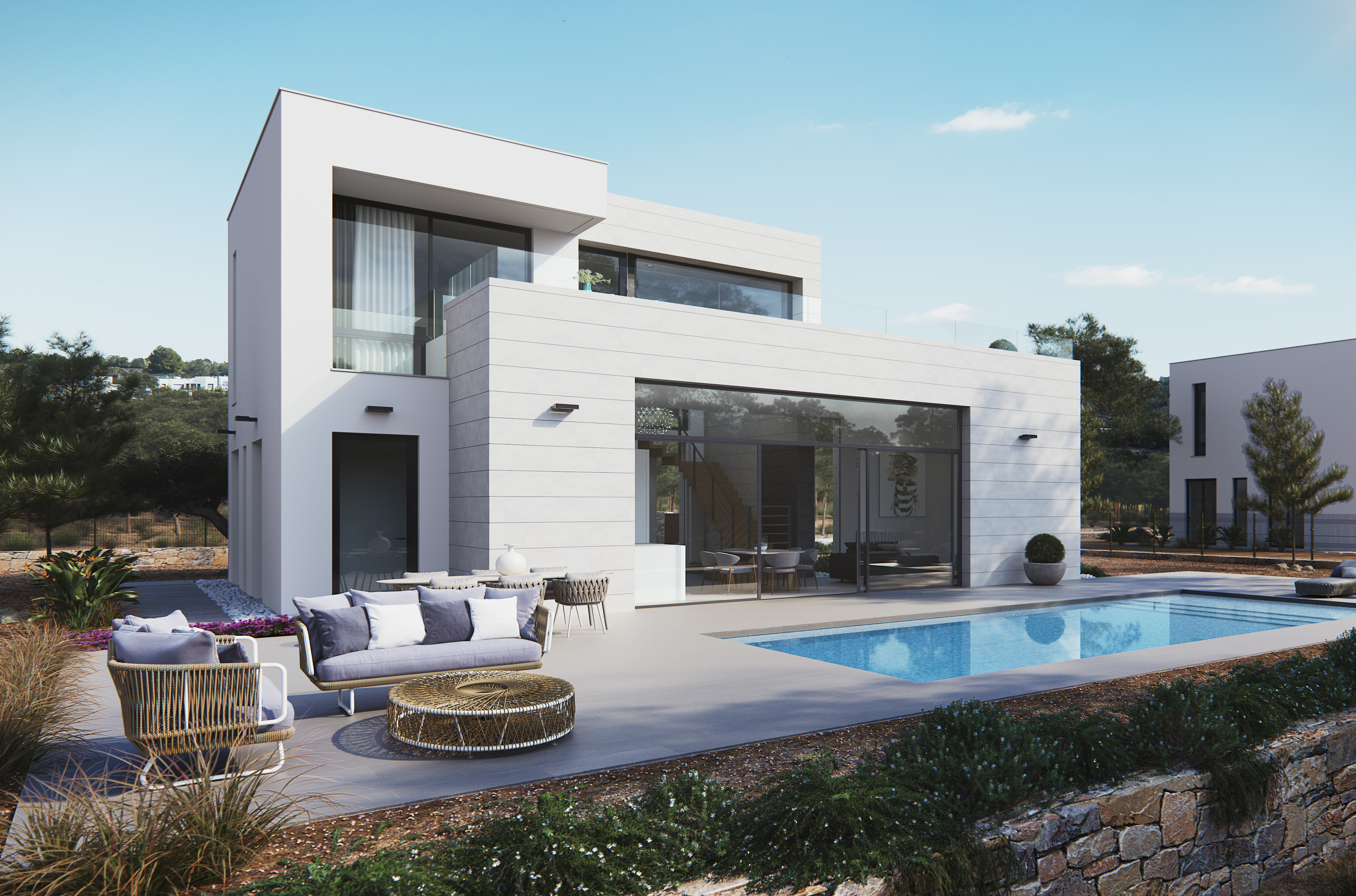 VILLA IN LAS COLINAS GOLF AND COUNTRY RESORT, ORIHUELA COSTA