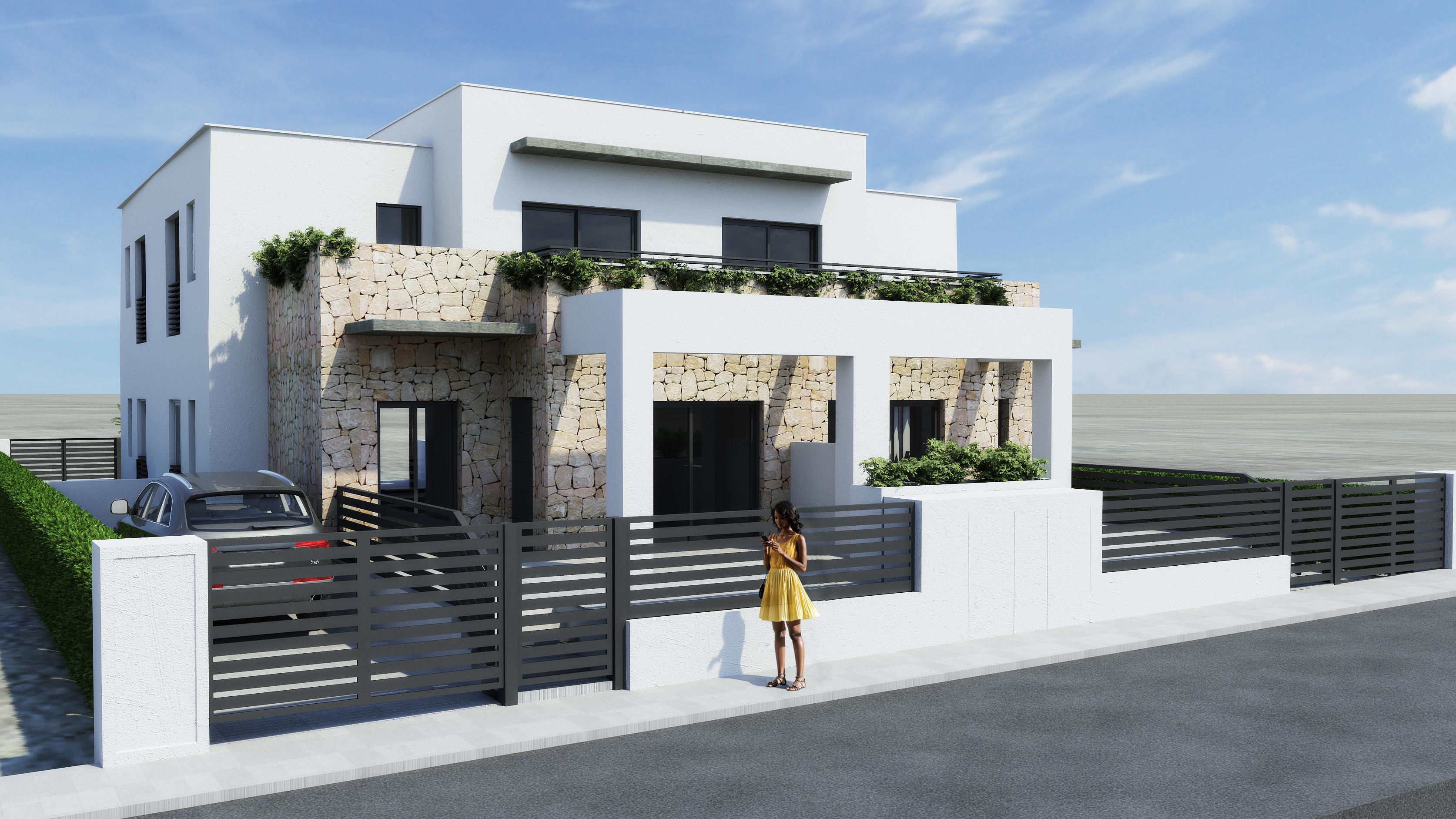 QUAD HOUSES IN AGUAS NUEVAS, TORREVIEJA